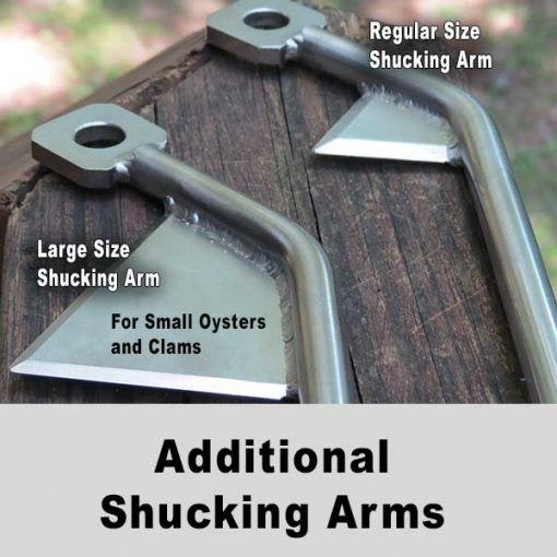 additional shucking arms