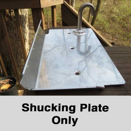 oyster shucking plate